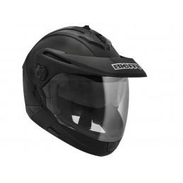 Capacete BieffeX-5 Steel PRETO/VERMELHO