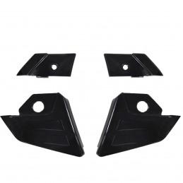 Fixação da pala para uso do capacete Bieffe 3 Sport no estilo cross