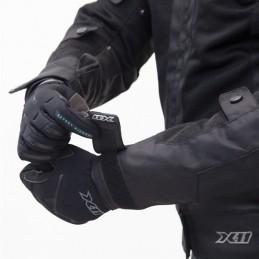 Jaqueta X11 Breeze Masculina Preta/Cinza Ventilada (100% Impermeável)