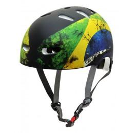 Capacete Kraft Bike/Skate Brasil