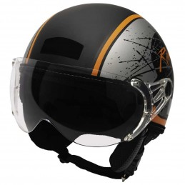 Capacete Kraft Plus Rebel...
