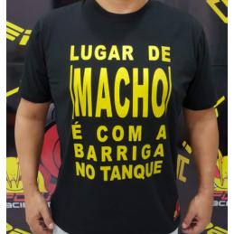 Camiseta Frase de Macho Honda