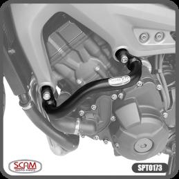 Protetor de Motor e Carenagem (Modelo Alça) Scam para Tracer 900 GT 2020 em diante