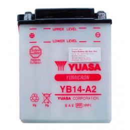 BATERIA YUASA YB14A 2 CBX 750