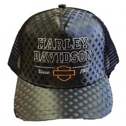 Boné Bordado C/ Logo Harley...