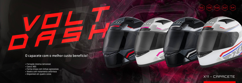 capacete x11 volt